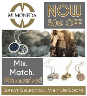 Mi Moneda – Interchangeable Pendants – NOW 50%Off!
