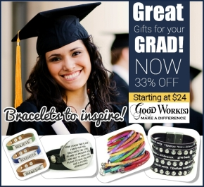 On Sale NOW! Inspiring Gifts for YourGraduate!